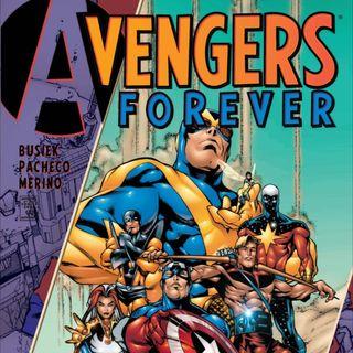 Source Material #219 - Avengers Forever (Marvel 1998)