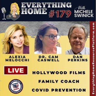 179 LIVE: Hollywood Films, Gut Health, Family Coach, Cannabis, Recording Artist