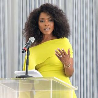 Angela Bassett Shares A Childhood Experience