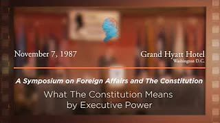 Panel IV: What the Constitution Means by Executive Power [Archive Collection]