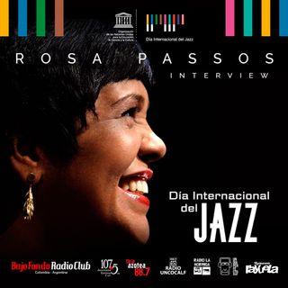 Rosa Passos en el marco del día internacional del Jazz