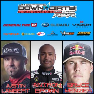 Antron Brown, Bryce Menzies, & Justin Lambert On Air!