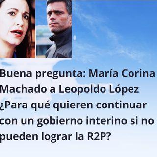 Podcast Así amanece hoy #11Dic 2020 Buena pregunta de @MariaCorinaYa a @LeopoldoLópez