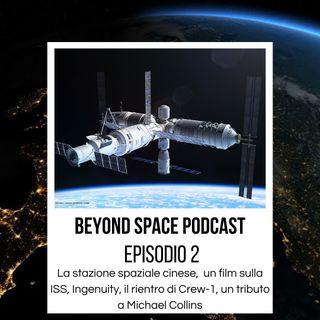 2. La stazione spaziale cinese, una crew televisiva sulla ISS, Ingenuity continua a stupire