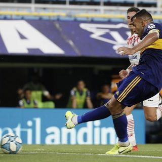 Gol de Boca: Ramón Ábila 2-0