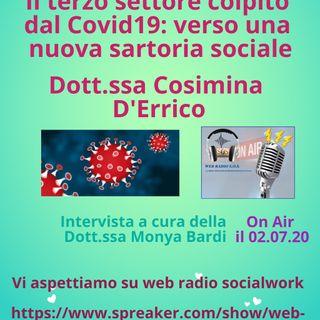 D'Errico Cosimina. Il terzo settore colpito dal Covid19: verso una nuova sartoria sociale