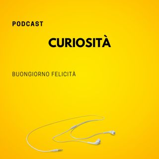 #797 - Curiosità | Buongiorno Felicità