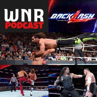 WNR158 WWE BACKLASH 2018
