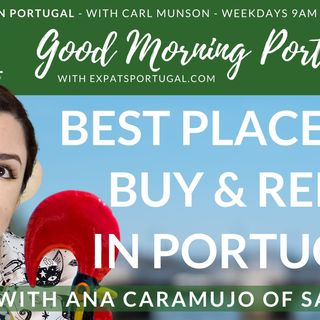 Best places to rent and buy in Portugal _ Savvy Cat Ana on Good Morning Portugal!