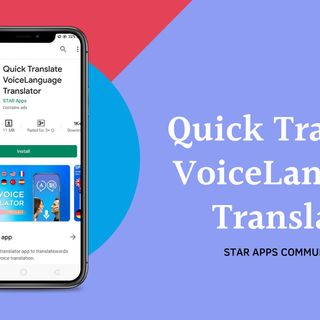 Quick Translate Voice Language Translato
