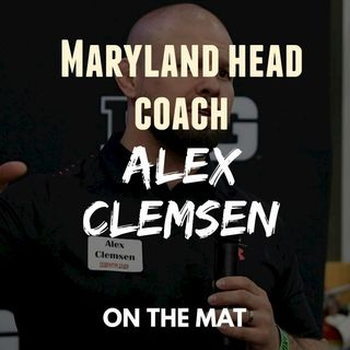 Alex Clemsen, Maryland head wrestling coach - OTM586