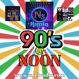n3radio Presents The 90's @ NOON III: The Dream Warrior with Special Guest Cold Turkey July 10,2019