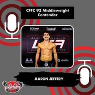 CFFC93 Main Event Middleweight Aaron Jeffrey Interview