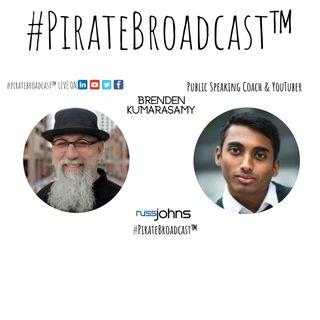 Catch Brenden Kumarasamy on the #PirateBroadcast™
