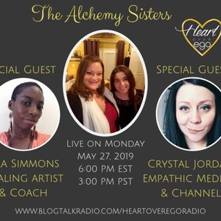 The Alchemy Sisters with Crystal Jordan and Lila Simmons