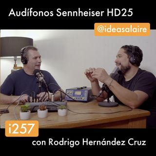 i257 Audífonos Sennheiser HD25 - Review
