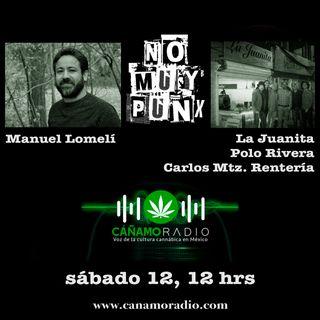 NoMuyPunx con Manuel Lomelí, Polo Rivera, Carlos Mtz Rentería y La Juanita
