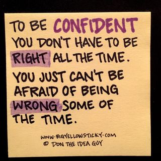 Confident Right Or Wrong : BYS 157