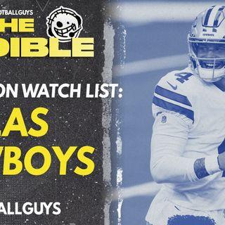2021 Fantasy Football - Dallas Cowboys Preseason Watch List