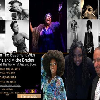 Miche Braden and the Music We Love on Brunch In The Basement With JaVonne