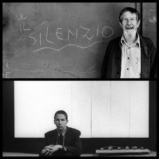 "I brani ""senza"" musica e i dipinti ""senza"" immagini. John Cage e Robert  Rauschenberg"