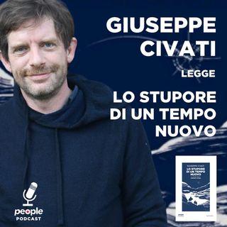 Giuseppe Civati legge 'Lo stupore di un tempo nuovo'