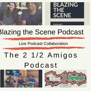 44. Amigos blazing the scene