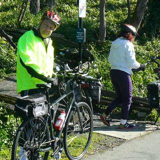 Riding the E&N Rail/Trail