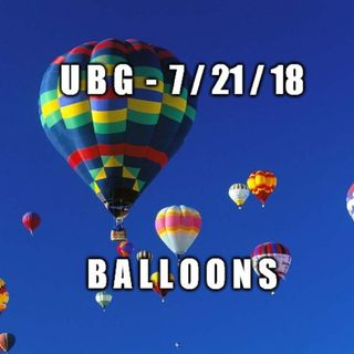 The Unpleasant Blind Guy : 7/21/18 - Balloons