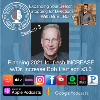 Planning 2021 for fresh increase w/Bob Harrison s3.3