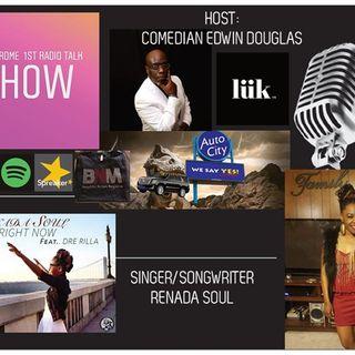 Uheardme 1st Radio Talk Show - Songwriter-Singer-Renada Soul