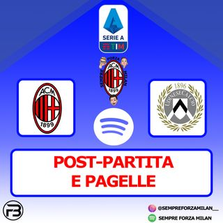 MILAN-UDINESE 1-1 | PAGELLE e POST PARTITA