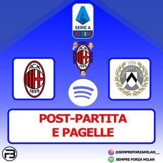 MILAN-UDINESE 1-1 | PAGELLE e POST PARTITA