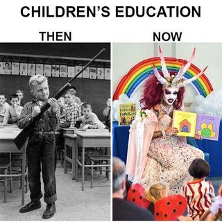 Who Let The Demons into Childrens Education THE LEFT thats WHO