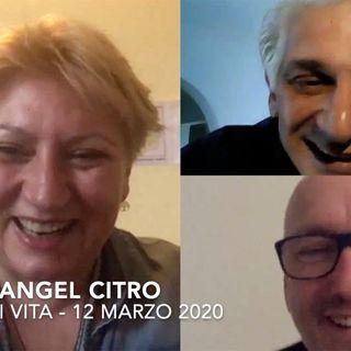 GERME DI VITA con OSCAR ANGEL CITRO diretta del 12 Marzo 2020 su la Medicina della Nuova Era
