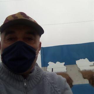 Desde  Monumento a Malvinas nota al Veterano Nestor Lucho Gonzalez