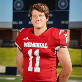 Memorial Quarterback Matthew Sanders