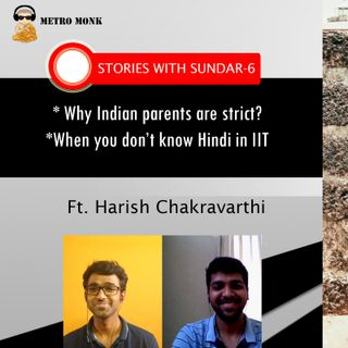 Tennis ➡️ IIT - Troubles Of Being An All Rounder - Stories With Sundar 6