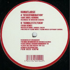 Kamaflarge - Discotamination (Dave Angel Rework)