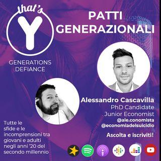 """""""Patti Generazionali"""" con Alessandro Cascavilla [Generations Defiance]"""