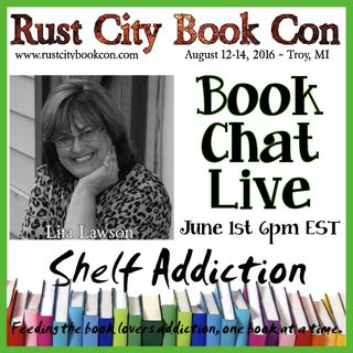 Ep 6: Author Interview with Lita Lawson | Book Chat LIVE