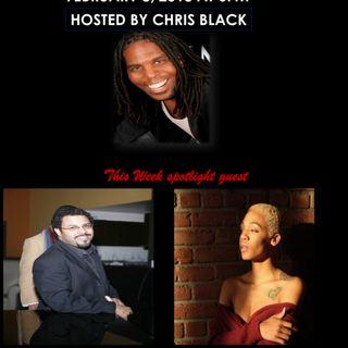 The Chris Black Show featuring Tony Walk & Jazmen Safina