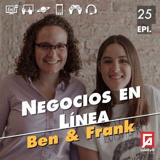 Negocios en línea con Ben & Frank.