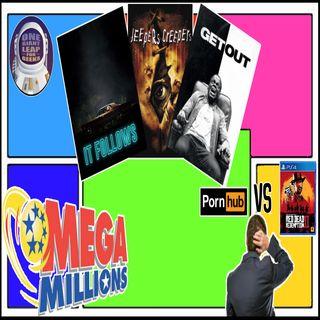 Top 5 Horror Films, Games VS Porn, & We Win The Mega Millions? | OGLFG Podcast