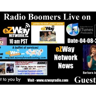 Radio Boomers Live S8 EP 25 Feat. Barbara Joy Cordova