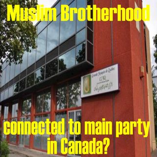 Morning minute Muslim Brotherhood inside one of our parties in Canada? Mar 2 2017