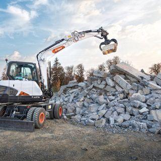 Ascolta la news: nuovo escavatore gommato Bobcat E57W da 6 ton