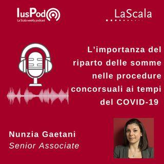 Ep. 41 IusPod L'importanza del riparto delle somme nelle procedure concorsuali ai tempi del COVID-19