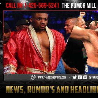 "☎️Tyson Fury Vs ""Big Baby"" Jarrell Miller 😱Late September or Early October❓"