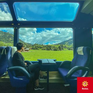 Suiza en trenes panorámicos con Viajeros Callejeros